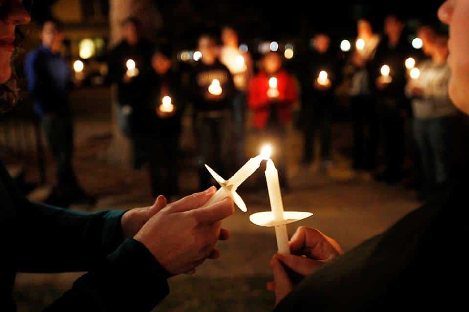 Candlelight Vigil and Speak out in Skowhegan at Coburn
